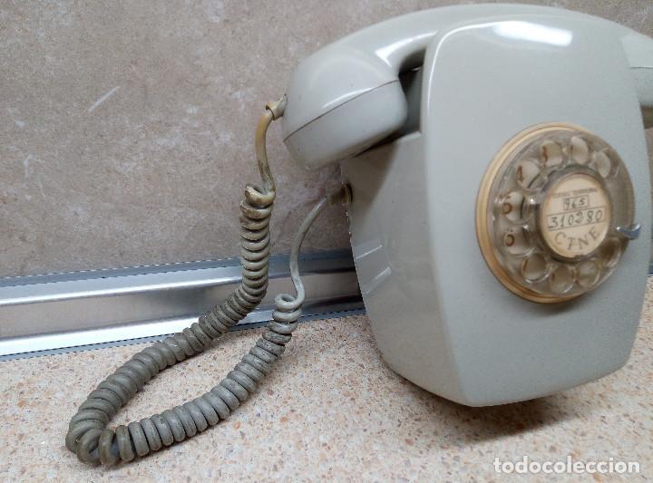 Teléfonos: TELEFONO DE PARED HERALDO DE CITESA ( MALAGA ) PERFECTO ) - Foto 3 - 194088476