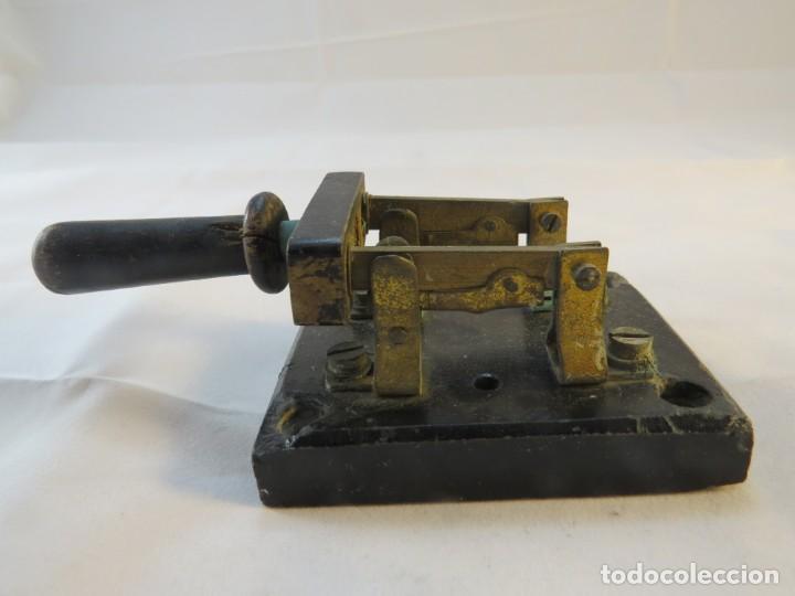 Antigüedades: Interruptor de bayoneta - Foto 2 - 194110108