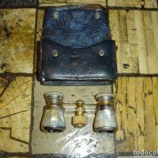 Antigüedades: PRECIOSOS BINOCULARES DE TETTRO EN NACAR DE COLECCION. Lote 194112041