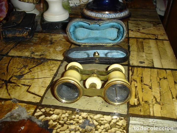 Antigüedades: muy bonitos prismaticos de teatro en su funada original siglo XIX principios del XX - Foto 2 - 194112375