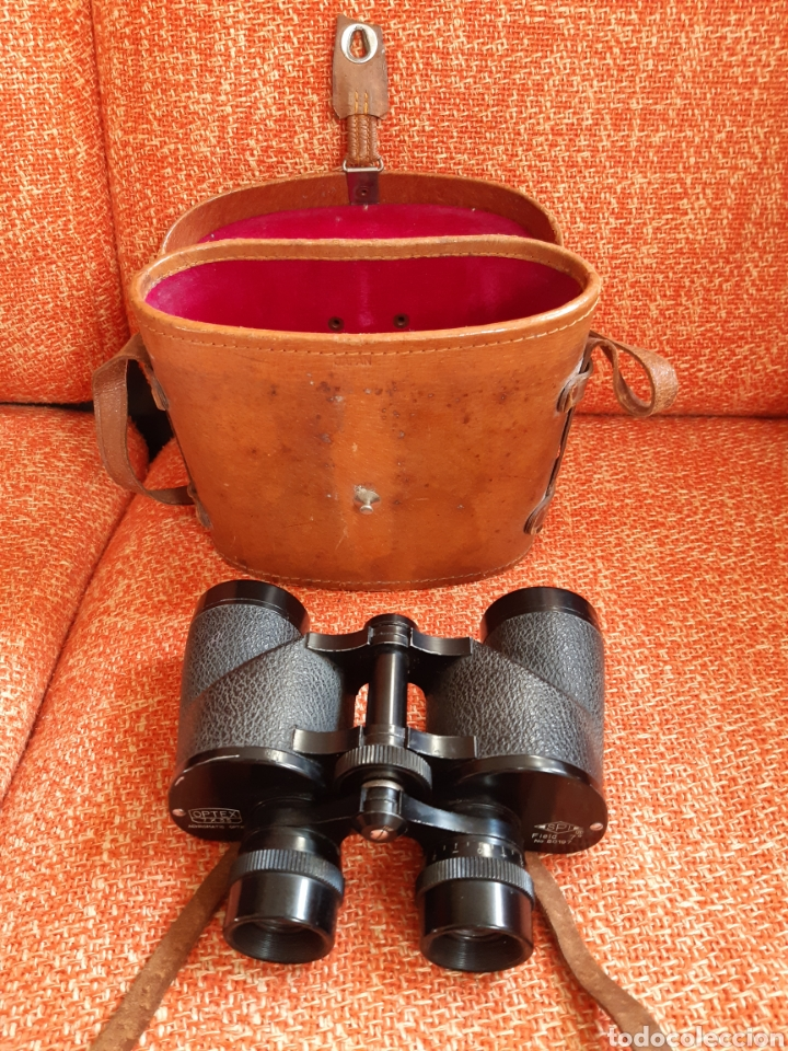 ANTIGUOS PRISMÁTICOS OPTEX SPI 7 X 35 FIELD 7 50197 (Antigüedades - Técnicas - Instrumentos Ópticos - Prismáticos Antiguos)