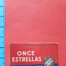 Antiguidades: FUNDA DE HOJA DE AFEITAR ' ONCE ESTRELLAS ' // ( HOJAS 3 ). Lote 194124241