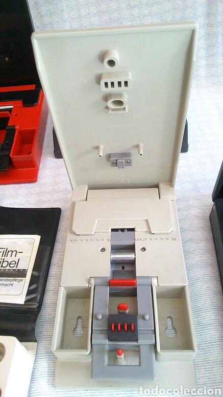 Antigüedades: Lote de máquinas para cortar peliculas super 8 - Foto 4 - 194124918