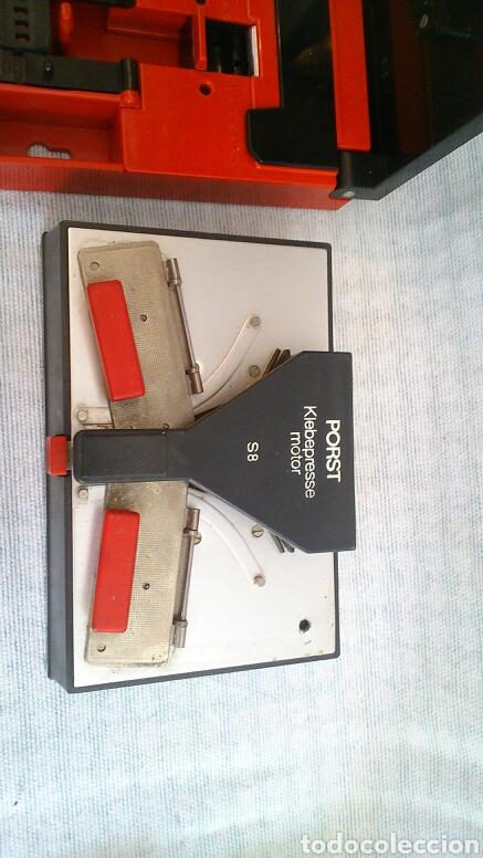 Antigüedades: Lote de máquinas para cortar peliculas super 8 - Foto 5 - 194124918
