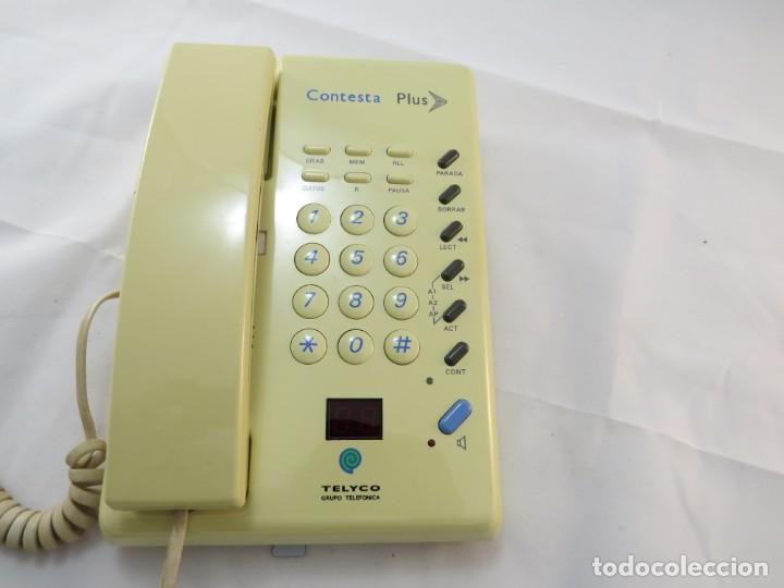 TELEFONO CONTESTADOR MARCA TELICO (Antigüedades - Técnicas - Teléfonos Antiguos)
