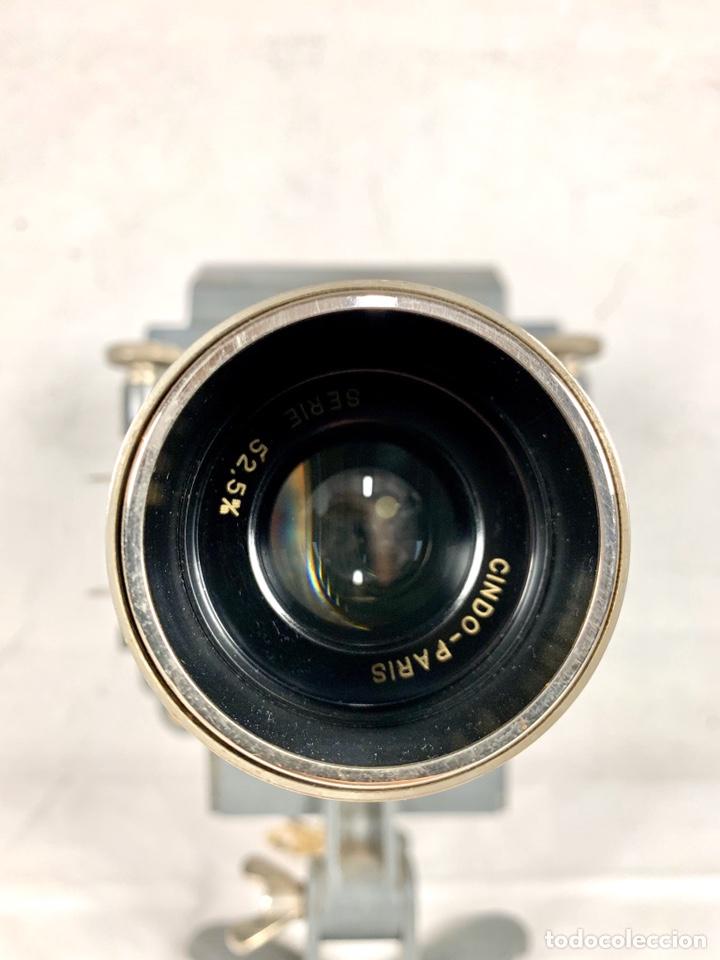 Antigüedades: Raro y antiguo proyector linterna mágica francés Le Mondial 37 - epidiascopio opacos - Foto 14 - 194152198
