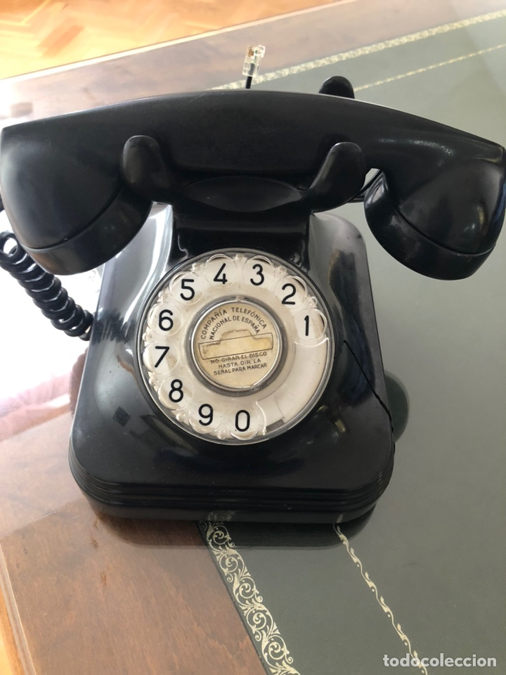 Teléfonos: Teléfono color negro Baquelita - Foto 2 - 194186481