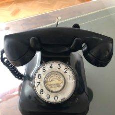 Teléfonos: TELÉFONO COLOR NEGRO BAQUELITA. Lote 194186481