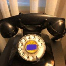 Teléfonos: TELÉFONO NEGRO ANTIGUO AÑOS 50-60. Lote 194186876