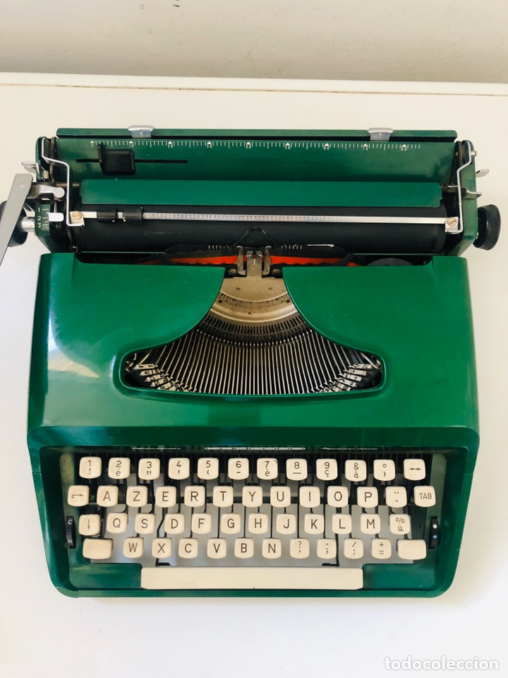 Antigüedades: Remington Concord 1969 Typewriter - Foto 5 - 194203337