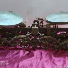 Antigüedades: INCREÍBLE BALANZA, ANTIGUA. Lote 194221102