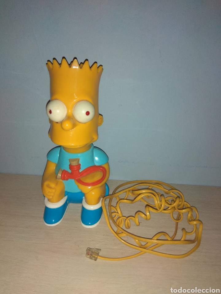 Teléfonos: Antiguo Teléfono de Bart Simpson - The Simpsons - año 1990 - - Foto 2 - 194227223