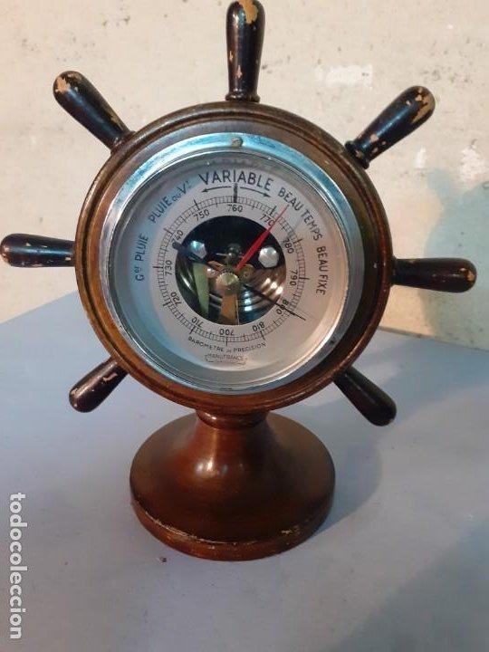 Antigüedades: Barometro nautico Manufrance - Foto 5 - 194241010