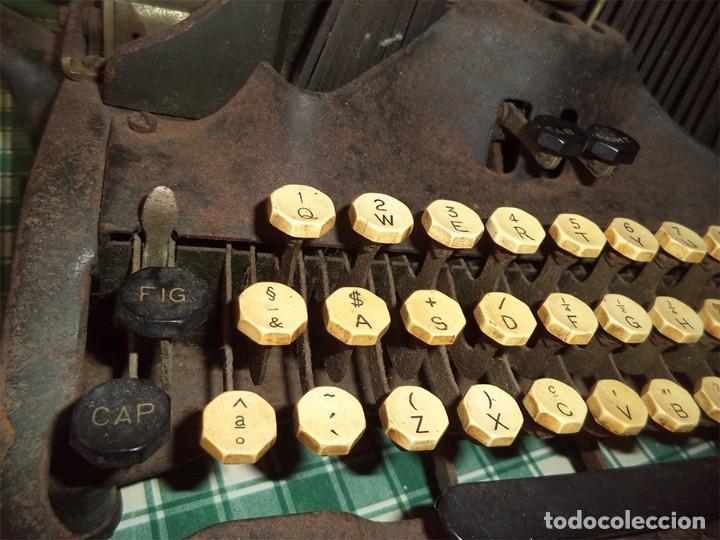 Antigüedades: MAQUINA ESCRIBIR OLIVER TYPEWRITER N.º 10 CHICAGO 1912 - - MIRAR LAS FOTOS -- - Foto 4 - 194247438