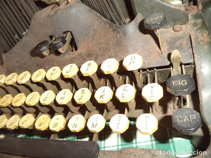 Antigüedades: MAQUINA ESCRIBIR OLIVER TYPEWRITER N.º 10 CHICAGO 1912 - - MIRAR LAS FOTOS -- - Foto 5 - 194247438