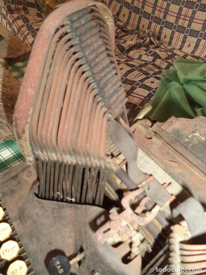 Antigüedades: MAQUINA ESCRIBIR OLIVER TYPEWRITER N.º 10 CHICAGO 1912 - - MIRAR LAS FOTOS -- - Foto 6 - 194247438