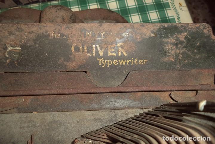 Antigüedades: MAQUINA ESCRIBIR OLIVER TYPEWRITER N.º 10 CHICAGO 1912 - - MIRAR LAS FOTOS -- - Foto 8 - 194247438