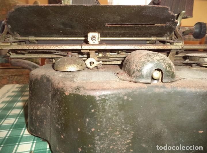 Antigüedades: MAQUINA ESCRIBIR OLIVER TYPEWRITER N.º 10 CHICAGO 1912 - - MIRAR LAS FOTOS -- - Foto 13 - 194247438