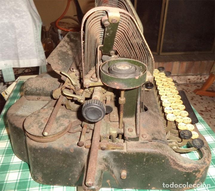 Antigüedades: MAQUINA ESCRIBIR OLIVER TYPEWRITER N.º 10 CHICAGO 1912 - - MIRAR LAS FOTOS -- - Foto 14 - 194247438