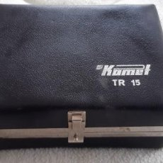Antigüedades: MAQUINA AFEITAR KOMET TR 15 DDR. Lote 194260850