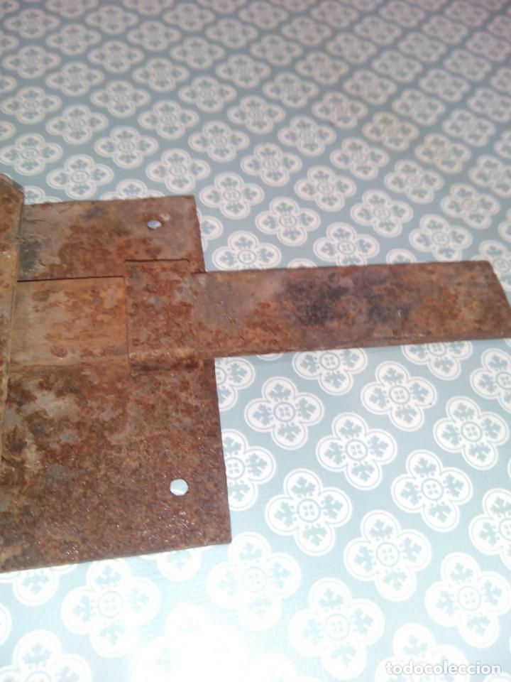 Antigüedades: Antigua cerradura sigloxix - Foto 5 - 194301748