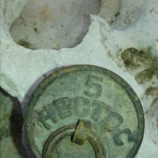 Antigüedades: PESA 5 HECTOC. Lote 194301931