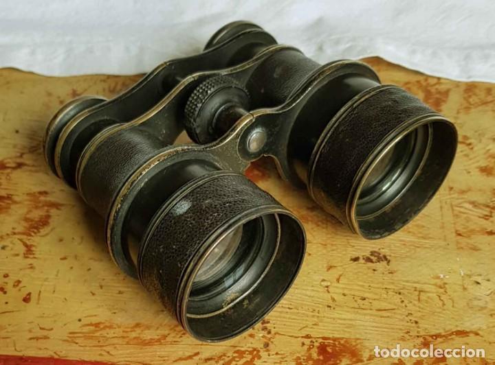 Antigüedades: BINOCULARES / PRISMATICOS ANTIGUOS de teatro, principios S XX - Foto 4 - 194309018