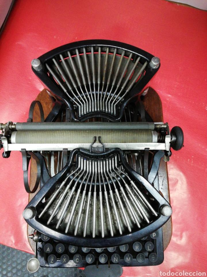 Antigüedades: Máquina de escribir Williams. Num. 2.U.S.A. 1.896. - Foto 2 - 194307225