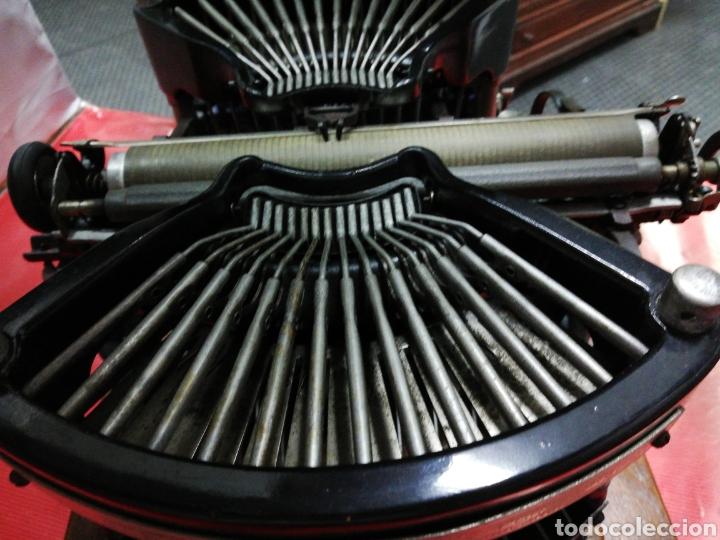 Antigüedades: Máquina de escribir Williams. Num. 2.U.S.A. 1.896. - Foto 5 - 194307225