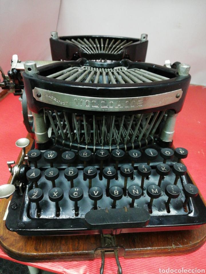 MÁQUINA DE ESCRIBIR WILLIAMS. NUM. 2.U.S.A. 1.896. (Antigüedades - Técnicas - Máquinas de Escribir Antiguas - Otras)