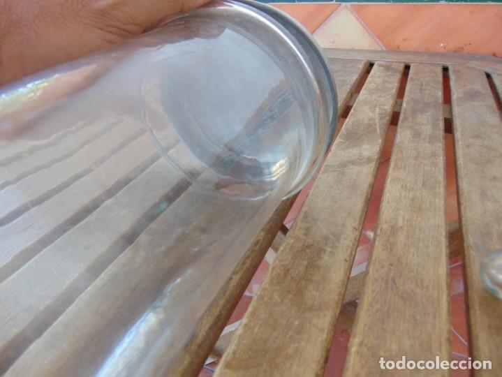 Antigüedades: TUBOS DE ENSAYO O SIMILAR EN CRISTAL PARA LABORATORIO O CONSULTA MEDICINA - Foto 9 - 194318986