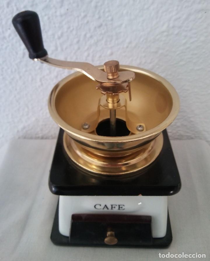 Antigüedades: Molinillo de Café cerámica y madera - Foto 4 - 194338733
