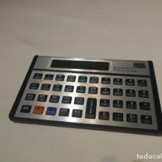 Antigüedades: CALCULADORA FINANCIERA HP 12C PLATINUM CON FUNDA. Lote 194354575