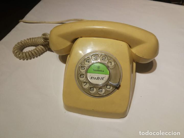 TELEFONO ANTIGUO VINTAGE CITESA 8008 GOAN (Antigüedades - Técnicas - Teléfonos Antiguos)