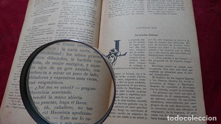 Antigüedades: LUPA CON MANGO DE MADERA ESFERA CRISTAL 7 CM DIAMETRO - Foto 5 - 194372630