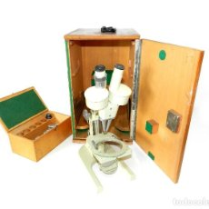 Antigüedades: MICROSCOPIO MEOPTA. Lote 194386923