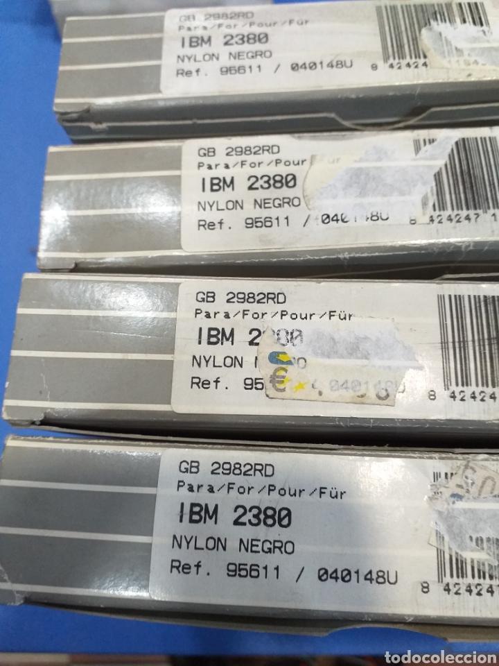 4 CINTAS NYLON IBM2380 (Antigüedades - Técnicas - Máquinas de Escribir Antiguas - Otras)