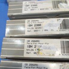 Antigüedades: 4 CINTAS NYLON IBM2380. Lote 194387570