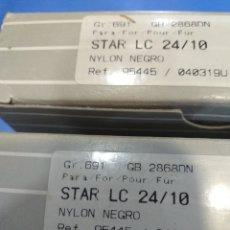 Antigüedades: 2CINTAS STAR LC24/10. Lote 194389417