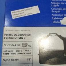 Antigüedades: 2 CINTAS FUJITSU DEL 3300/3400/ DPMG 9 GR.644. Lote 194389655