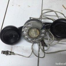 Teléfonos: TELEFONO OPERARIO TELEFONICA - PARA COMPROBAR LINEAS TELEFONICAS.MUY ANTIGUO. Lote 194489268