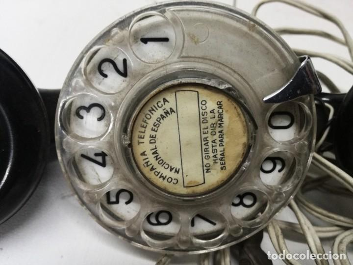 Teléfonos: TELEFONO OPERARIO TELEFONICA - PARA COMPROBAR LINEAS TELEFONICAS.MUY ANTIGUO - Foto 2 - 194489268