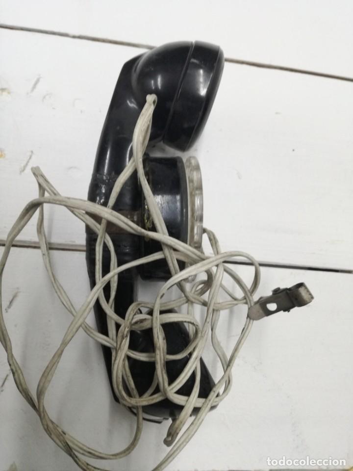 Teléfonos: TELEFONO OPERARIO TELEFONICA - PARA COMPROBAR LINEAS TELEFONICAS.MUY ANTIGUO - Foto 4 - 194489268