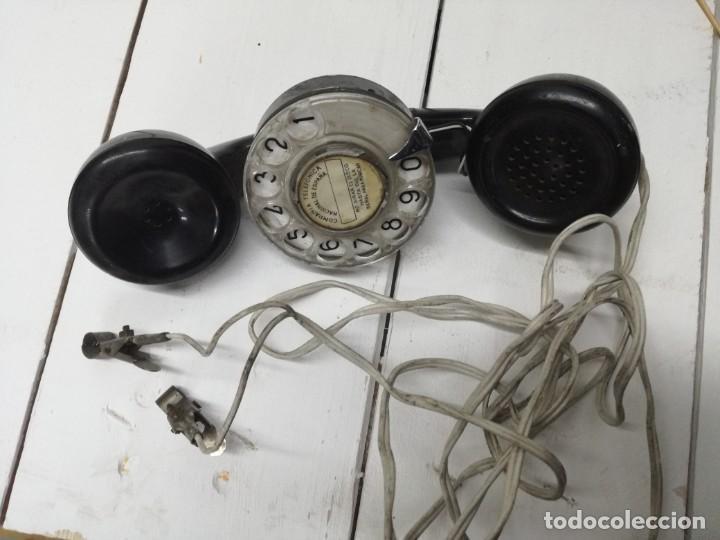 Teléfonos: TELEFONO OPERARIO TELEFONICA - PARA COMPROBAR LINEAS TELEFONICAS.MUY ANTIGUO - Foto 6 - 194489268
