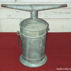 Antigüedades: LÁMPARA DE CARBURO CON DOS PUNTOS DE LUZ. Lote 194492065