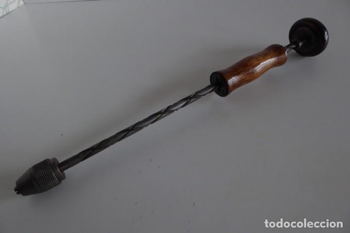 ANTIGUA PARAFUSA MANUAL (Antigüedades - Técnicas - Herramientas Profesionales - Carpintería )
