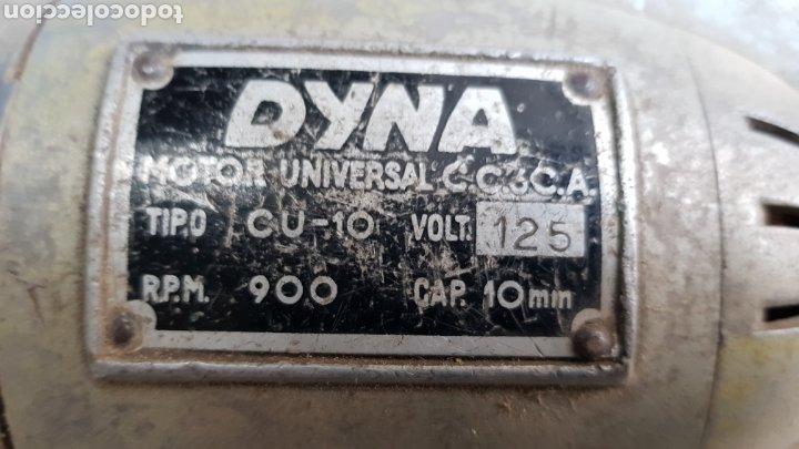 Antigüedades: Antiguo taladro Dyna 125v - Foto 2 - 194499966