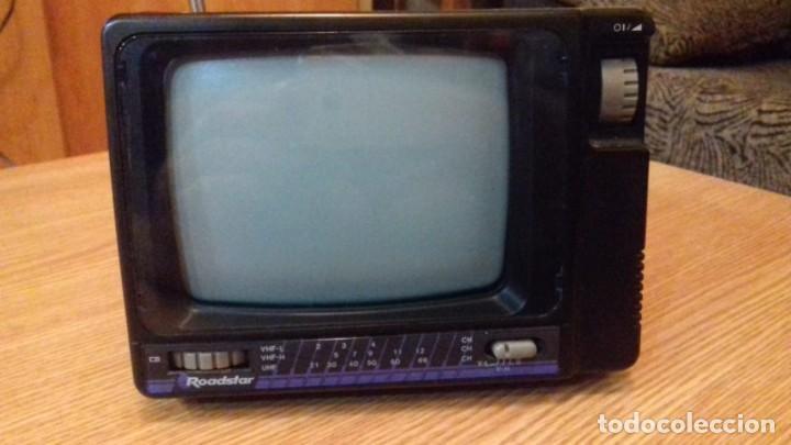 ANTIGUA TELEVISIÓN DE COLECCIÓN ROADSTAR (Antigüedades - Técnicas - Varios)