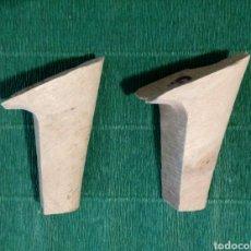 Antigüedades: TACONES ANTIGUOS DE ZAPATERO. Lote 194533245