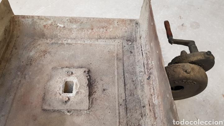 Antigüedades: Antigua fragua de herrero con su turbina LIGP - Foto 4 - 194549707